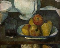 P.Cézanne, Stilleben mit Äpfeln und ... von AKG  Images