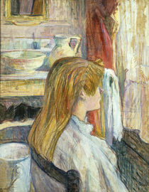 H. de Toulouse-Lautrec / Woman by Window by AKG  Images