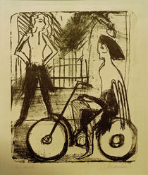 Ernst Ludwig Kirchner, Cyclist by AKG  Images
