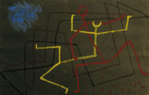 Paul Klee, Gelb unterliegt (Yellow...) by AKG  Images