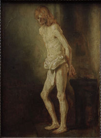 Rembrandt, Christ at the Column / Ptg. by AKG  Images