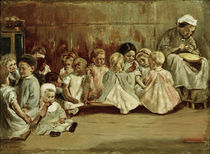 Liebermann / Nursery School / Painting by AKG  Images