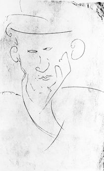 Blaise Cendrars / Drawing by Modigliani by AKG  Images
