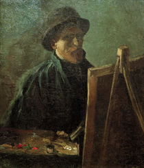 van Gogh, Self-Portrait at Easel / 1886 by AKG  Images