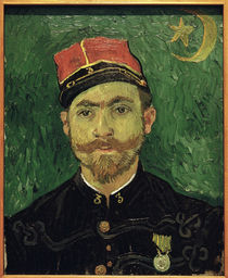 van Gogh / Portrait of Milliet / 1888 by AKG  Images