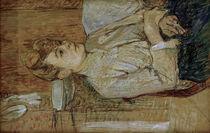 H. d. Toulouse-Lautrec, Frau mit Zigarette von AKG  Images