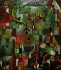 Paul Klee, Bild mit d. Hahn und Grenadier von AKG  Images
