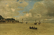 C.Monet, The lighthouse at Honfleur by AKG  Images