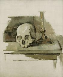 Cézanne, Stilleben mit Totenkopf... von AKG  Images