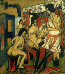 E.L.Kirchner / Nudes in the Studio by AKG  Images
