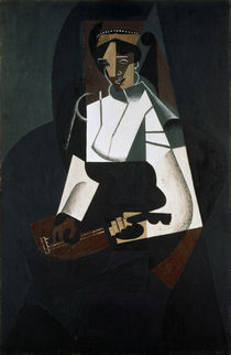 Juan Gris / Woman with Mandolin, 1916 by AKG  Images