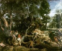 P.P.Rubens, Die Wildschweinjagd von AKG  Images