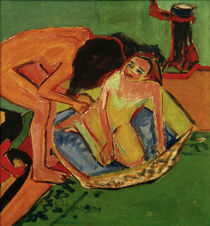 E.L.Kirchner / Two Nudes with Bathtub by AKG  Images