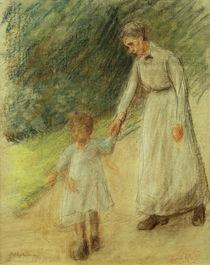 Max Liebermann, Enkelin u. Kinderfrau von AKG  Images