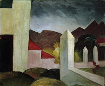 August Macke / Tunisian Landscape by AKG  Images