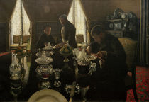 G.Caillebotte, The Breakfast / 1876 by AKG  Images