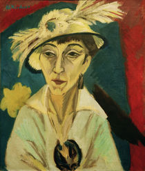 E.L.Kirchner / Portrait of Erna Schilling by AKG  Images
