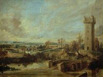 Peter Paul Rubens, Landschaft mit Turm by AKG  Images