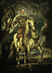 Duke of Lerma / Painting by Rubens by AKG  Images