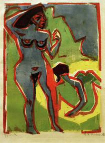 E.L.Kirchner / Women Bathing (Moritzburg) by AKG  Images