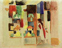 A.Macke / Children at the Greengrocers I / 1913 by AKG  Images