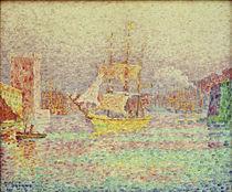 Signac, Paul / Hafen von Marseille/ um1906 von AKG  Images