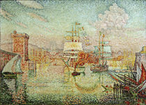 P.Signac / Port entry at Marseille by AKG  Images