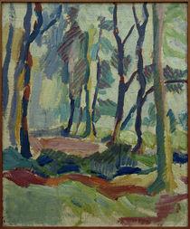 Helmuth Macke, Herbstwald ibei Krefeld / Gemälde, 1910 von AKG  Images