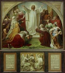 W. von Schadow, Paradies (Himmel) / Mitteltafel, Triptychon, by AKG  Images