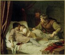 Ermordung Eduards IV. u. Brruder Richard / Gem. v. Hildebrandt von AKG  Images