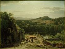 W.Whittredge, Landschaft im Harz von AKG  Images