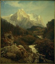 Johann Wilhelm Schirmer, Das Wetterhorn von AKG  Images