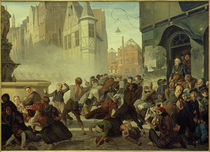 Storming of Bakery Breslau / Hoyoll by AKG  Images