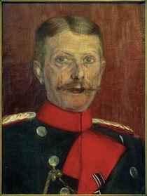 Maximilian von Schwarzkoppen als Militärattaché / Gemälde von Ida Gerhardi by AKG  Images