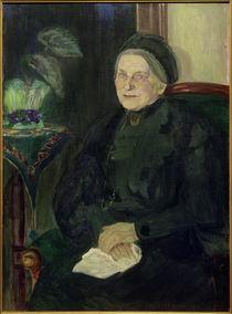Ida Gerhardi, Bildnis einer älteren Dame (Emma Turck) by AKG  Images
