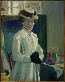 Ida Gerhardi, Selbstbildnis IV 1907 von AKG  Images