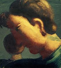 O.Schlemmer, Großer Kopf von der Seite von AKG  Images