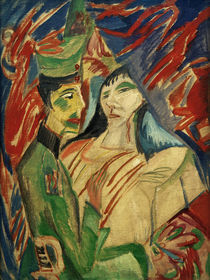 Ernst Ludwig Kirchner, Soldier and Girl by AKG  Images