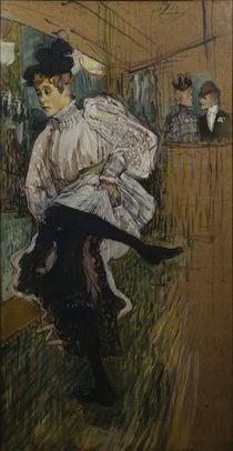Toulouse-Lautrec, Jane Avril dansant von AKG  Images
