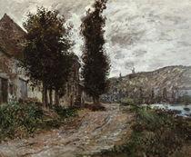 C.Monet, Treidelweg bei Lavacourt von AKG  Images