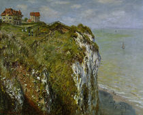 Monet / Cliffs near Dieppe / Painting by AKG  Images