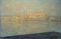 Monet, The Doge's Palace by AKG  Images