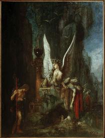 G.Moreau, Oedipe voyageur von AKG  Images