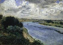 A. Renoir / Chalands sur la Seine by AKG  Images