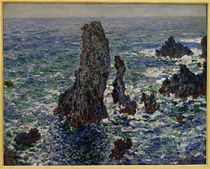 Monet / Rocks at Belle-Ile / 1886 by AKG  Images