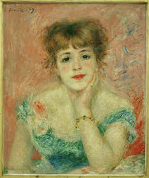 Renoir / Jeanne Samary / 1877 by AKG  Images