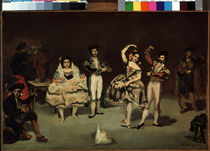 Manet / The Spanish Ballet / 1862 by AKG  Images