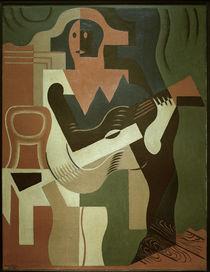 Juan Gris / Harlequin w. Guitar / 1919 by AKG  Images