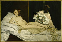 Eduard Manet / Olympia / 1863 by AKG  Images