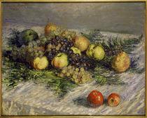 C.Monet, Birnen und Trauben von AKG  Images